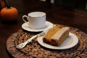 Golden Pumpkin Cake
