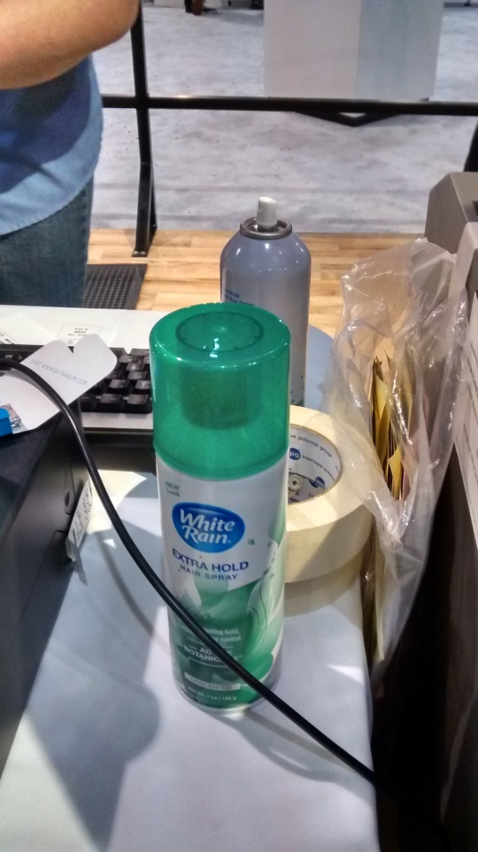 NFL Experience Finishing Football Spray