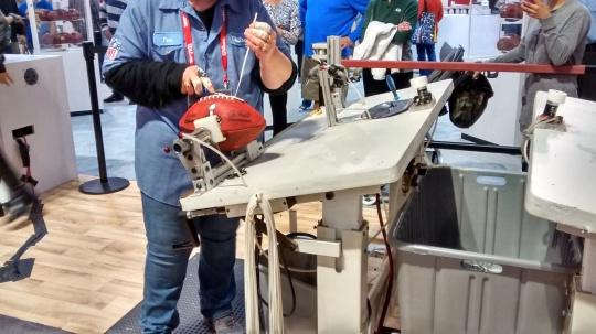 NFL Experience Lacing Football