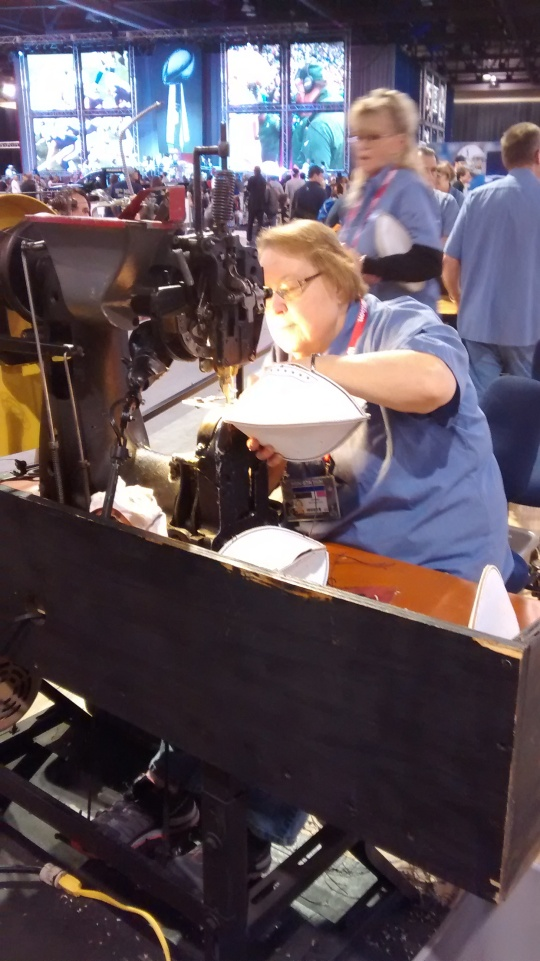 NFL Experience Sewing Football
