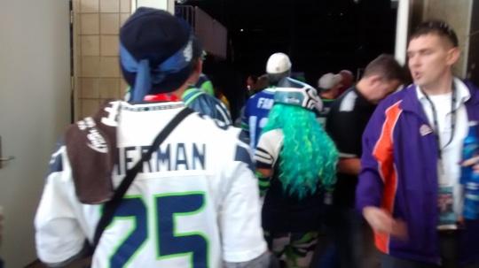 Super Bowl Fans