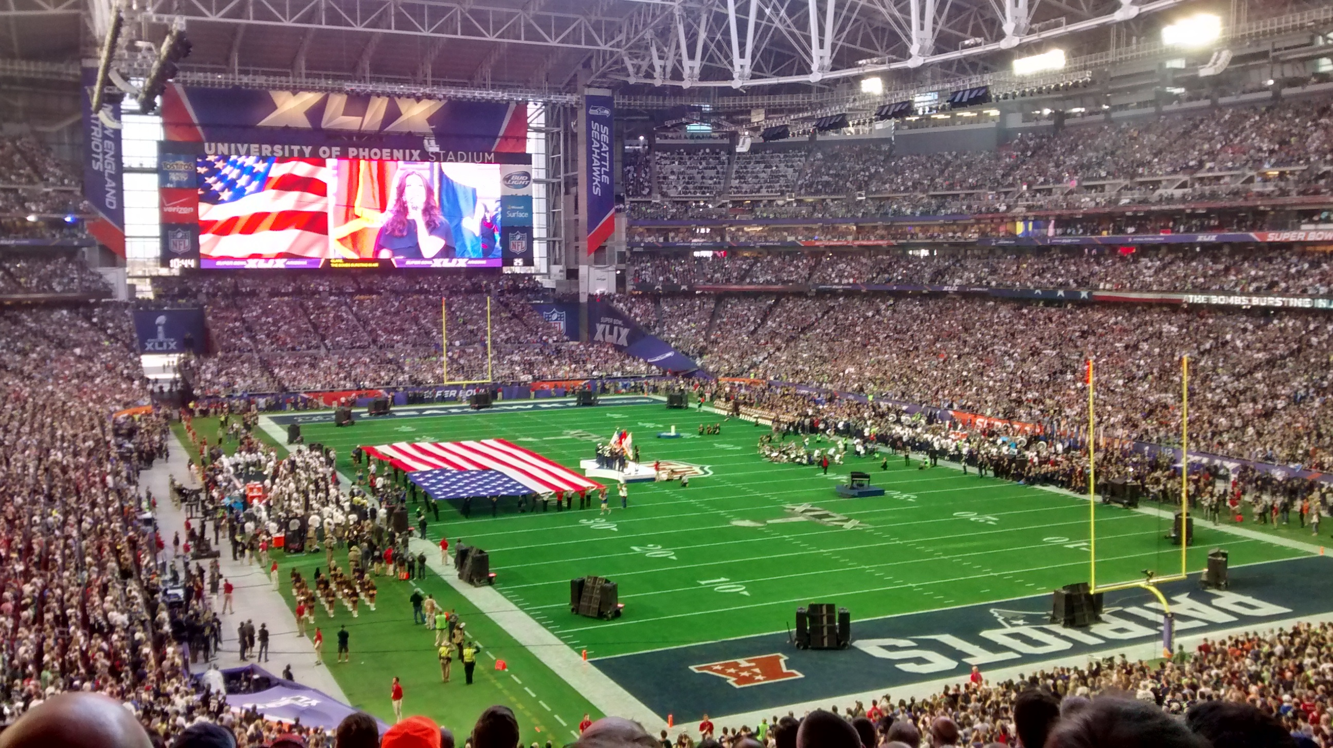 NFL Experience | Home Is Where The Haggis Is
