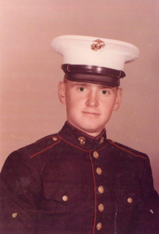 Victor A. Cavallari.  United States Marine