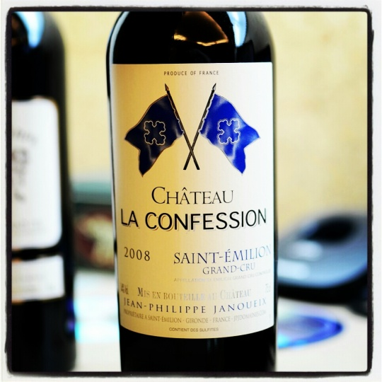 Chateau La Confession 2008 2Jan2013 94pts
